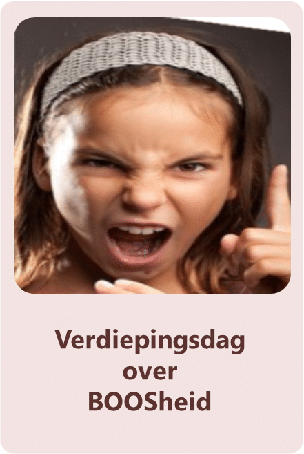 Verdiepingsdag over BOOSheid